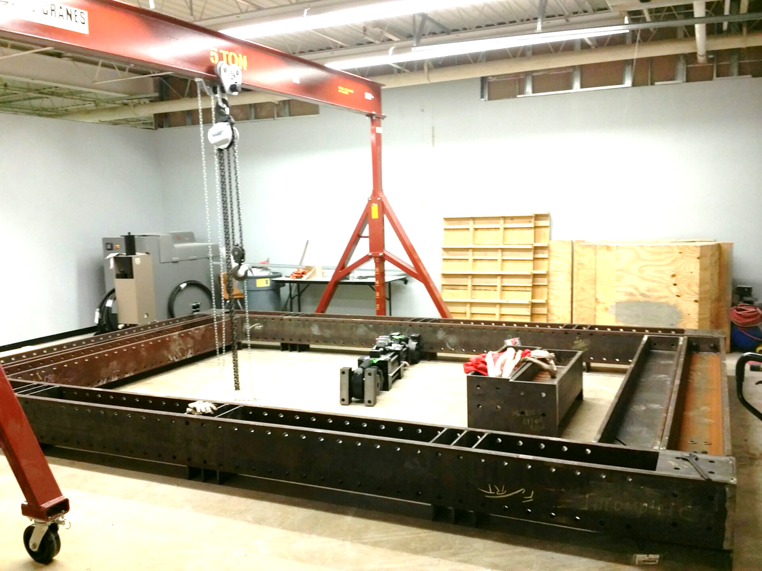 Structural Testing Laboratory : Facilities
